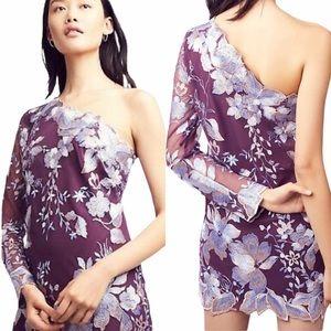NWT Free People Rosalie Embroidered Mini Dress